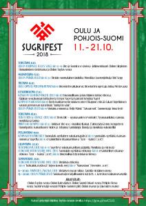 Sugrifest 2018